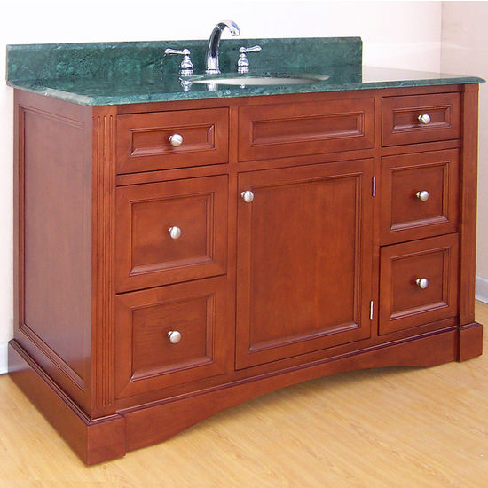 "Empire Newport Collection Cinnamon Bathroom Vanity 48"" W"