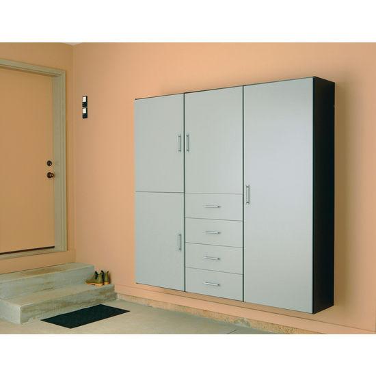 Garage cabinets easy track garage cabinets - Simple garage storage cabinets in cool structured design ...