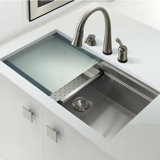 Novus Undermount Single Bowl