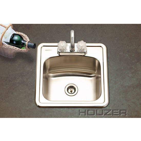 Topmount Bar Sink by Houzer