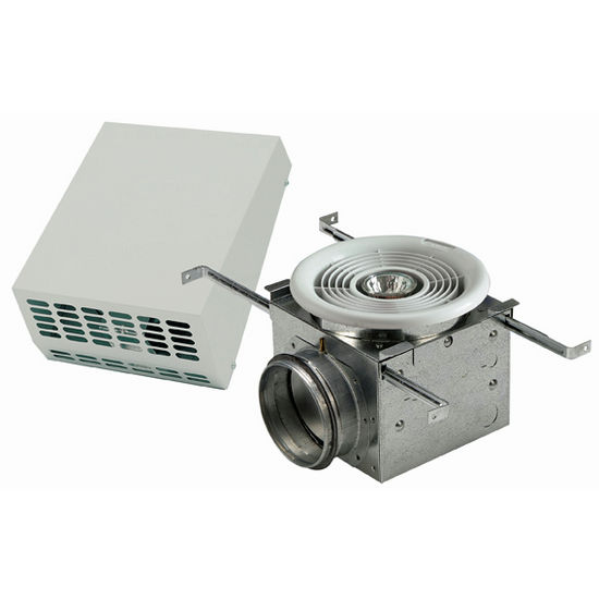 Exterior Mount Bath Fan With or Without Lights