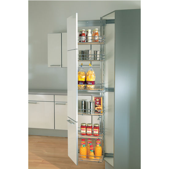 Kitchen cabinet organizers dsa narrow tall cabinet pull for Tall kitchen drawer unit