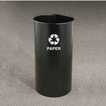 RecyclePro Open Top Receptacles, 9 Gallons