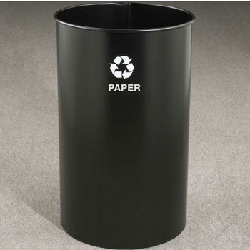 RecyclePro Open Top Receptacles, 36 Gallons