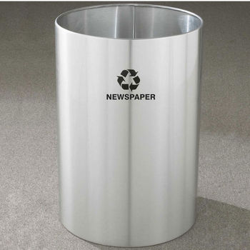 RecyclePro Open Top Receptacles, 39 Gallons