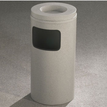 Glaro Mt. Everest Sand Cover Ash/Trash Receptacle