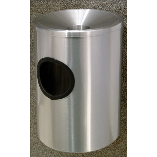 Glaro Wall Mounted Funnel Cover Ash/Trash Receptacle