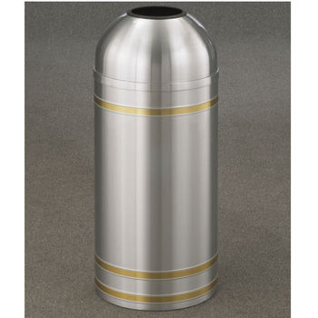 Capri WasteMaster� Collection Open Dome Top Waste Receptacles