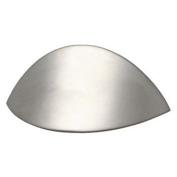 Modern Zinc Handle, Nickel Matt