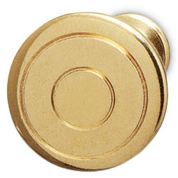 Hafele Traditional Brass Knob