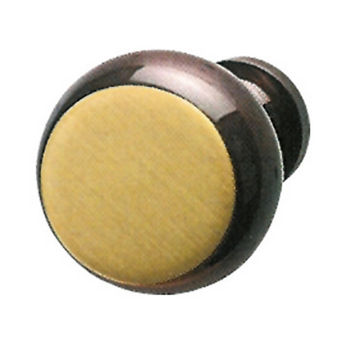 Hafele Traditional Brass Knob, Antique Bronze, 31mm Diameter, 28mm Depth