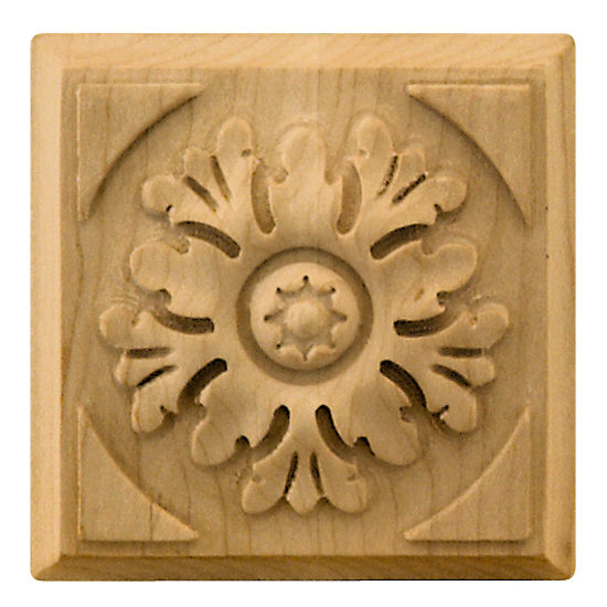 Hafele Artisan Collection Ornament, Hand Carved, 2-7/8'' W