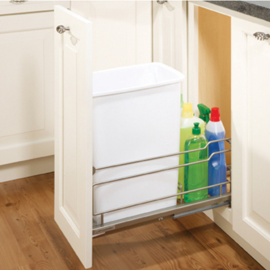 Single Pull-Out Waste Bin Frame