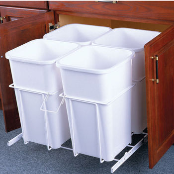 Four Bin Bottom Mount Waste Bin
