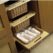 Pull-Out Wicker Baskets