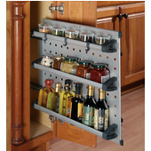 Kitchen Base or Vanity Cabinet Modular Organizers with Flexible Configurations