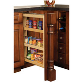 Kitchen Base Cabinet Pull-Out Filler Organizer