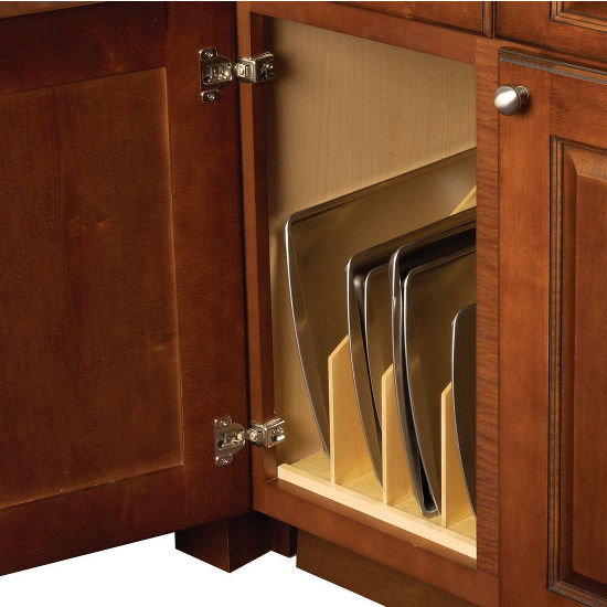 Hafele Wood Tray Divider For Kitchen Base Or Tall Cabinet