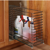 Kitchen Cabinet Lockable Pull-Out Storage Cage