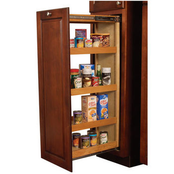 Maple Pantry Pull-Out