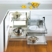 Magic Corner II for Use in Kitchen Blind Corner Cabinet