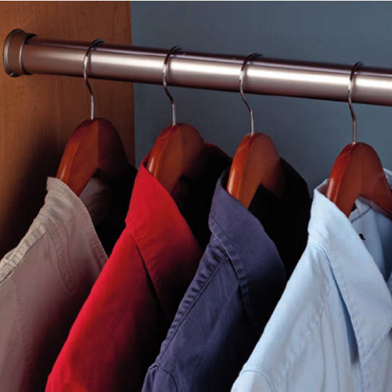 Hafele Hafele Wardrobe Rail & Support