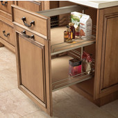 Height Adjustable Soft & Silent Base Cabinet Pull-Out Frames