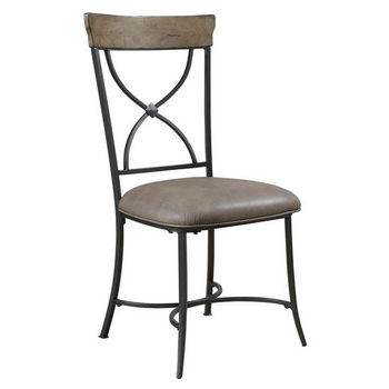 Hillsdale Furniture Charleston X-Back Dining Chair, Set of 2