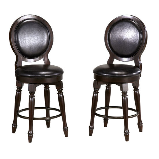 Home Styles Bermuda Espresso Bar Stool