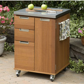 Montego Bay Outdoor Patio Cart by Home Styles