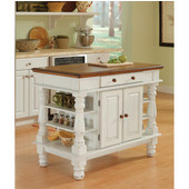 Americana Kitchen Island by Home Styles