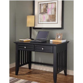 Home Styles Arts & Crafts Student Desk, Black