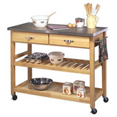Kitchen Cart w/ SS Top