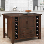 Cabin Creek Kitchen Island by Home Styles