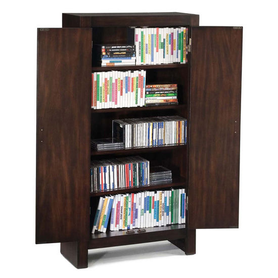 City Chic Espresso Media Cabinet by Home Styles