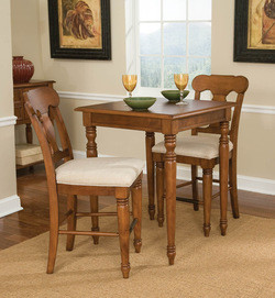 Home Styles Homestead Bistro Table & 2 Stools
