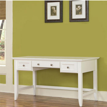White Naples Executive Desk by Home Styles