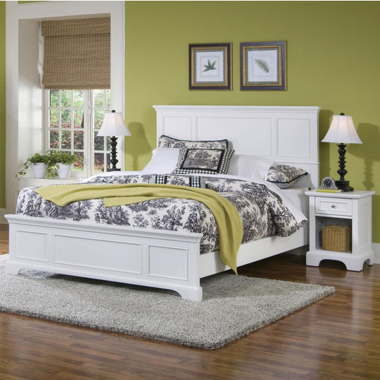 Naples Queen Bed & Night Stand Set