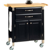Prep & Serve Kitchen Cart by Home Styles