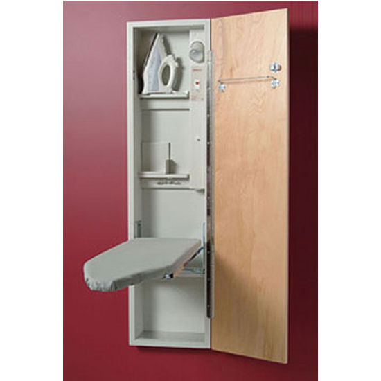 Hide Away Ironing Board Cabinet | MF Cabinets