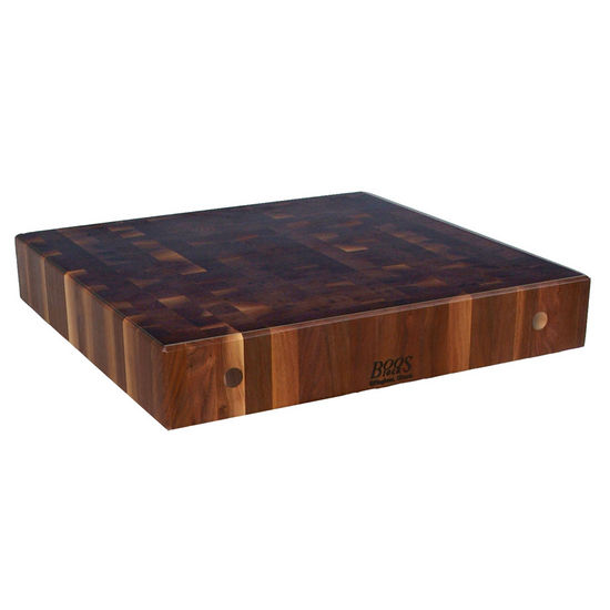 End Grain Butcher Block Kitchen Island : John Boos 7