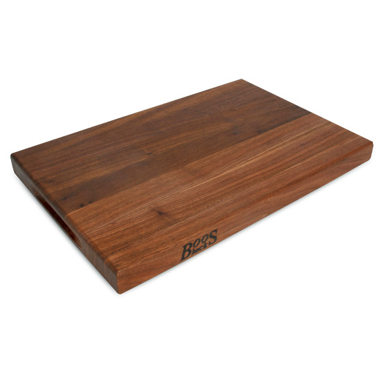 Reversible Walnut Wood Cutting Board