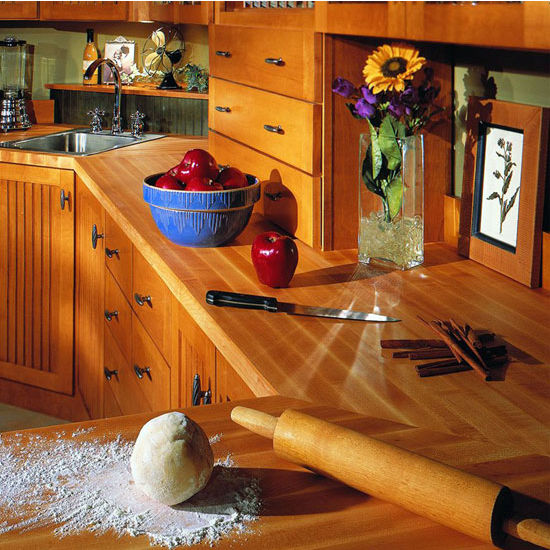 Butchers Kitchen 1 For 1 : Butcher Block Countertops - Hard Rock Maple 25