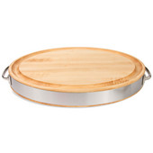 John Boos Edge Grain Oval Board