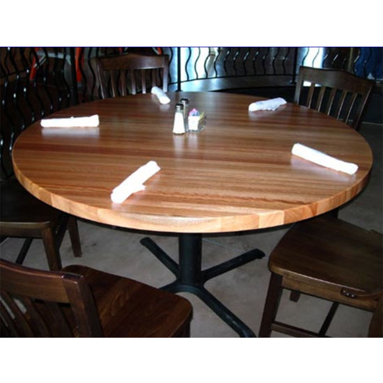 Table Tops - Oak Four Corner Drop Leaf Butcher Block Table Top by ...