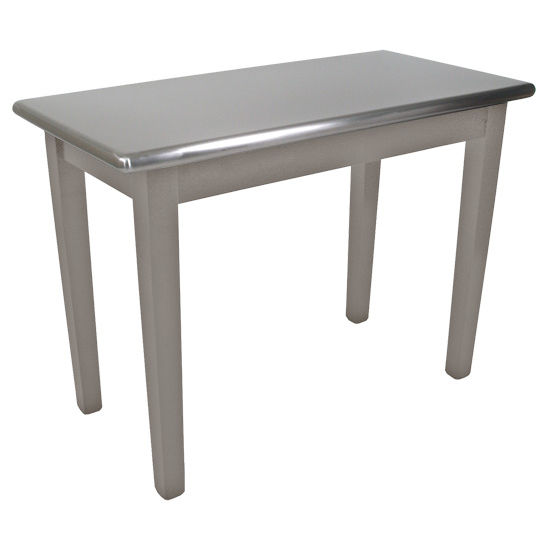 kitchen table stainless steel top boos kitchen table