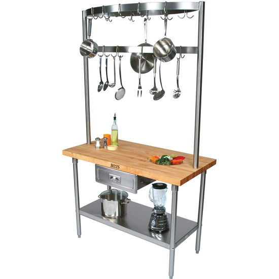 Build A Table Cucina Grandioso Kitchen Island by John Boos