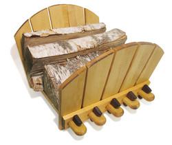 JK Adams Adirondack Log Rack