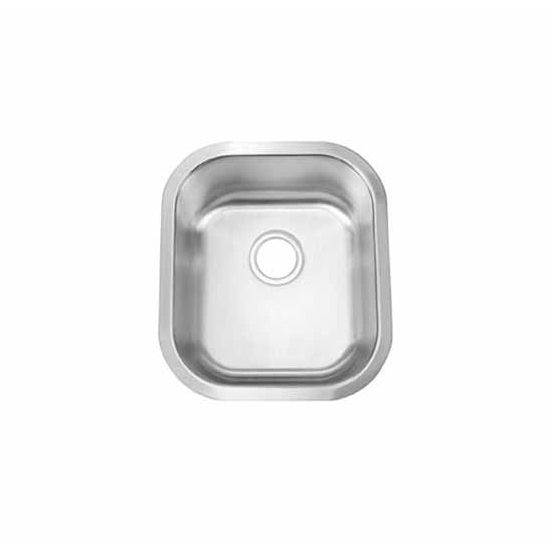 JULIEN Essence Small 033100 Undermount Stainless Steel Kitchen Sink