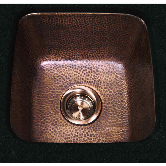 Cantrio Koncepts Copper Vessel Bathroom Sink
